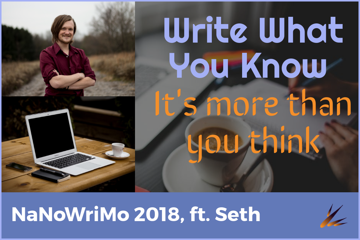 NaNoWriMo: Write What You Know