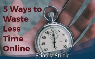 5 ways to waste less time online