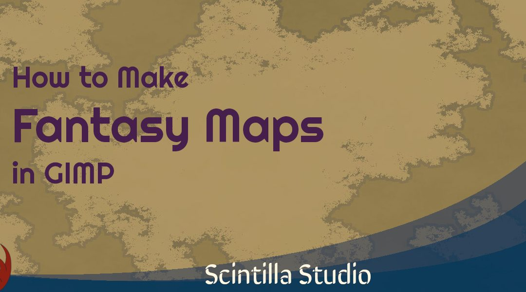 How to Make a Fantasy Map in GIMP