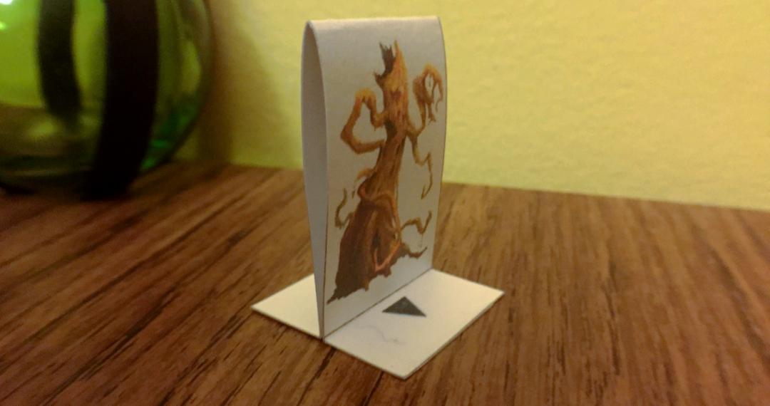 Papercraft Miniature example