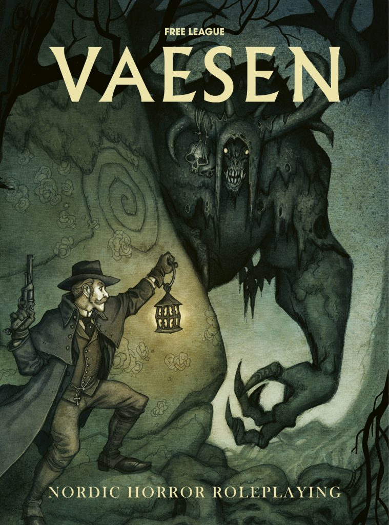 Vaesen, English cover