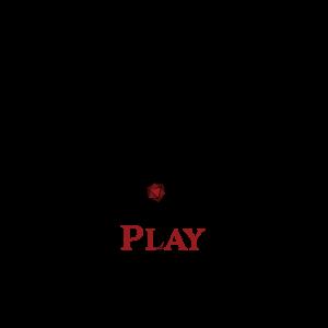 Roll Play Lead logo, a dragon surrounding a d20
